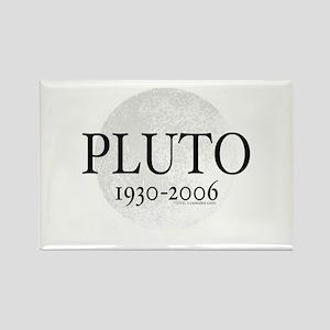 Goodbye Pluto Rectangle Magnet