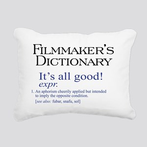 All Good Rectangular Canvas Pillow