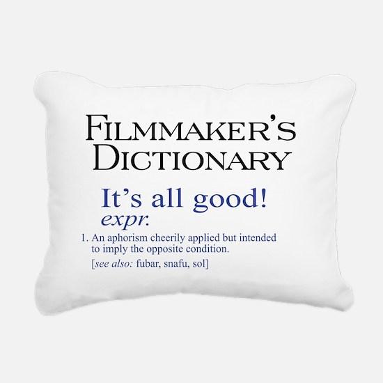 All Good.png Rectangular Canvas Pillow
