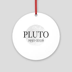 Goodbye Pluto Ornament (Round)