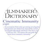 Cinematic Immunity Round Car Magnet