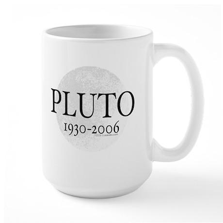 Goodbye Pluto Large Mug