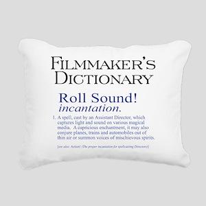 Roll Sound Rectangular Canvas Pillow
