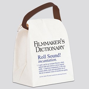 Roll Sound Canvas Lunch Bag