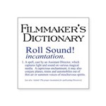 Roll Sound Square Sticker 3