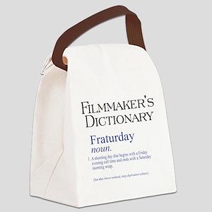 Fraturday Canvas Lunch Bag