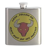 Lead Follow OR -- round large Flask