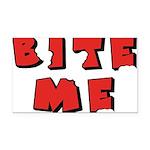 Bite Me Rectangle Car Magnet