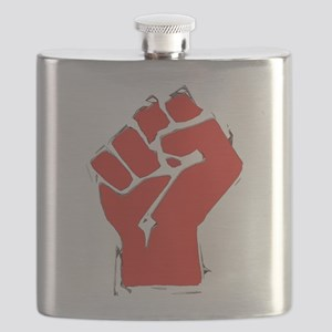 AnarchyFist Cutout Flask
