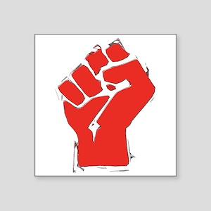 "AnarchyFist Cutout Square Sticker 3"" x 3"""