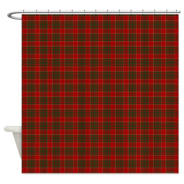 Cameron Clan Celtic Shower Curtain By Rebeccakorpita