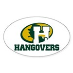 Hangovers (trans for light backgrounds) Sticke