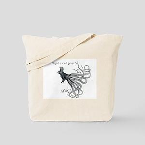 Squirrelpus Tote Bag