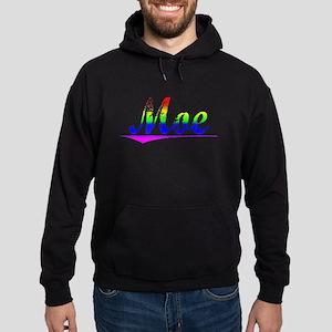 Moe, Rainbow, Hoodie (dark)