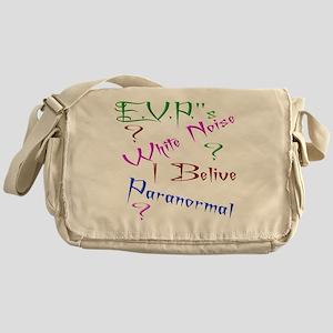 E.V.P.s Messenger Bag