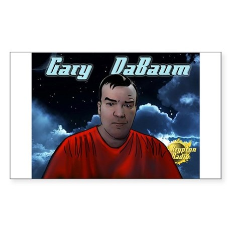 Gary DaBaum! Sticker (Rectangle)