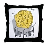 Uber Gamer! Throw Pillow