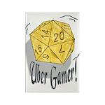 Uber Gamer! Rectangle Magnet (100 pack)