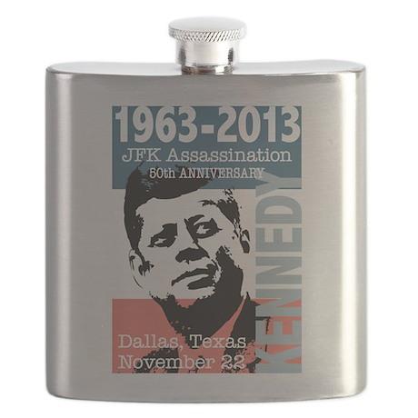 Kennedy Assassination 50 Year Anniversary Flask