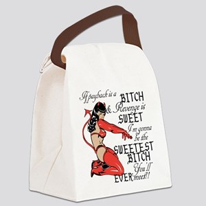 Youll Ever Meet!! Canvas Lunch Bag