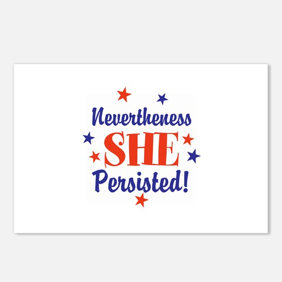nevertheless she persisted Postcards (Package of 8