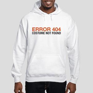 costume no found Hooded Sweatshirt