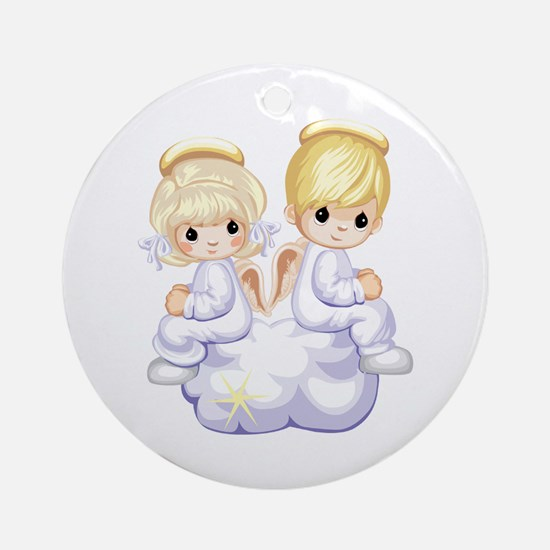 PRECIOUS ANGELS Ornament (Round)