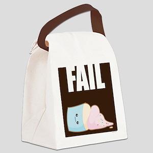 Fail Canvas Lunch Bag
