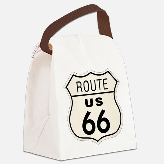 route66 Canvas Lunch Bag