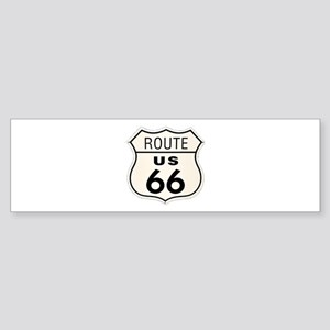 route66 Sticker (Bumper)