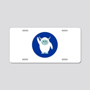 Lil Yeti Aluminum License Plate