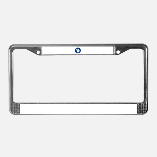 Lil Yeti License Plate Frame