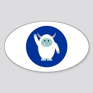 Lil Yeti Sticker (Oval)