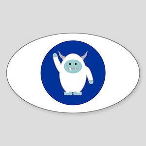 Lil Yeti Sticker (Oval)