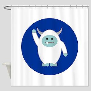 Lil Yeti Shower Curtain