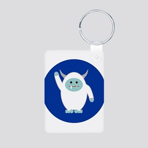 Lil Yeti Aluminum Photo Keychain