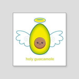 "Holy Guacamole! Square Sticker 3"" x 3"""