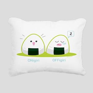 Punny Nigiri Rectangular Canvas Pillow