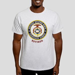 Retired US Navy Chaplain Light T-Shirt