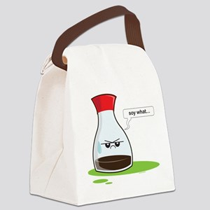 Soy What! Canvas Lunch Bag
