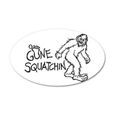 Gone Squatchin Wall Decal
