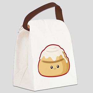 Cinnamon Bun Canvas Lunch Bag