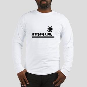 mauiwhtplm Long Sleeve T-Shirt
