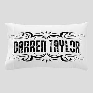 Darren Taylor Name Logo Pillow Case