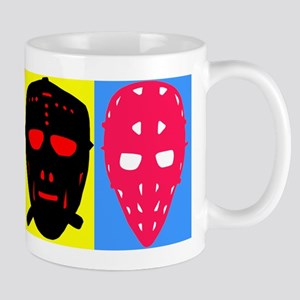 Vintage Hockey Goalie Masks Mug