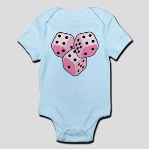 Bunco Breast Cancer Dice Infant Bodysuit