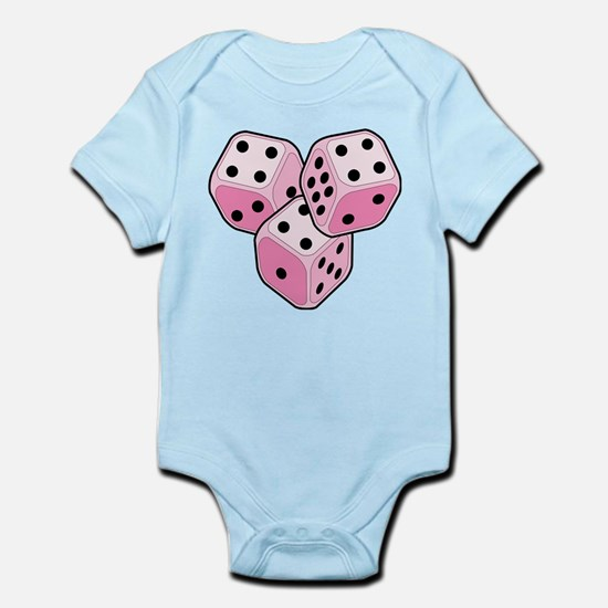 Bunco Breast Cancer Dice Infant Bodysuit