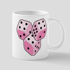 Bunco Breast Cancer Dice Mug