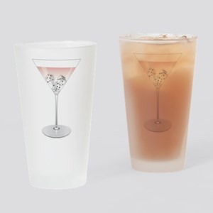 Bunco Martini Cocktail Drinking Glass