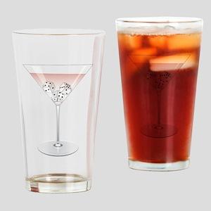 Bunco Martini Cocktail Drinking Glass